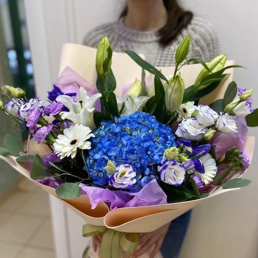 Самой самой💙: букеты цветов на заказ Flowwow
