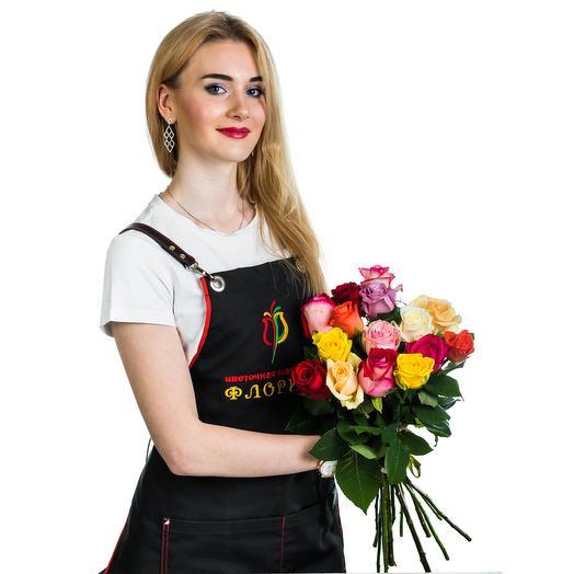 15 роз МИКС: букеты цветов на заказ Flowwow