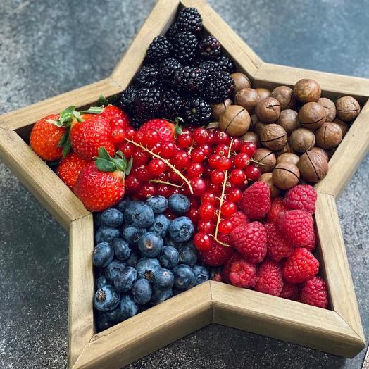 """Коробки с ягодами  """"Утреняя звезда"""""""