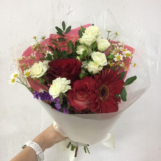 Поздравляем: букеты цветов на заказ Flowwow