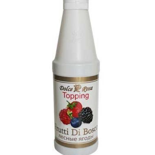 Сироп из лесные ягоды Topping 1 л