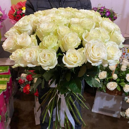 Роза ароматные большое бутон