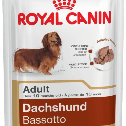 Royal Canin ADULT DACHSHUND консервы (паштет) для собак породы такса 85 г