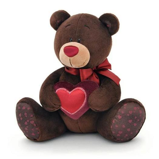 Мягкая игрушка Choco с сердцем