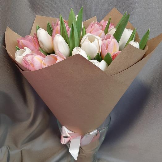 Микс тюльпанов 19шт