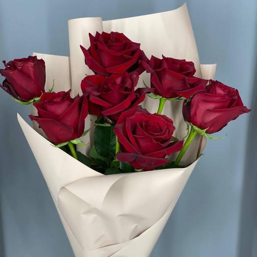 Букет 7 роз Эксплорер
