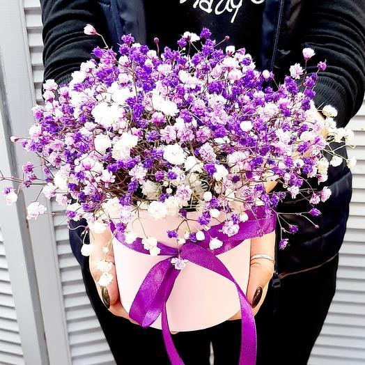"""Цветы в коробке """"Прованс"""""""