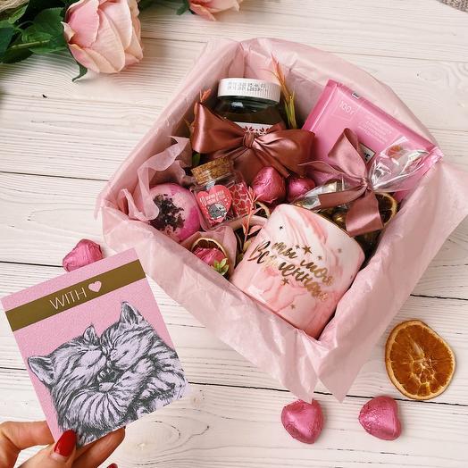 Подарочный набор любимой «Моя Вселенная» / Подарок девушке/ Подарок жене