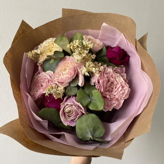 Букет из сухоцветов Романтика
