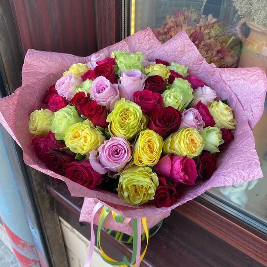 Букет роз Микс