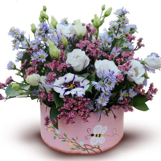 Розовые крапинки: букеты цветов на заказ Flowwow