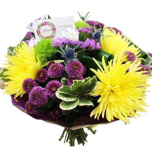 Букет Лазурный берег: букеты цветов на заказ Flowwow