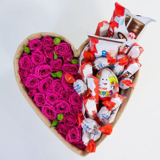 Большая розовая сладость: букеты цветов на заказ Flowwow