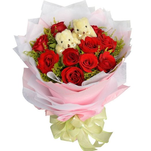 Мягкое чудо: букеты цветов на заказ Flowwow