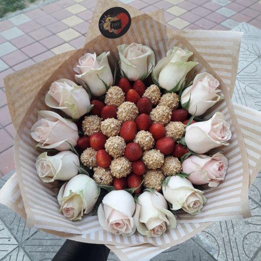 Букет Спеши любить : букеты цветов на заказ Flowwow