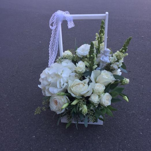 Снежная история: букеты цветов на заказ Flowwow