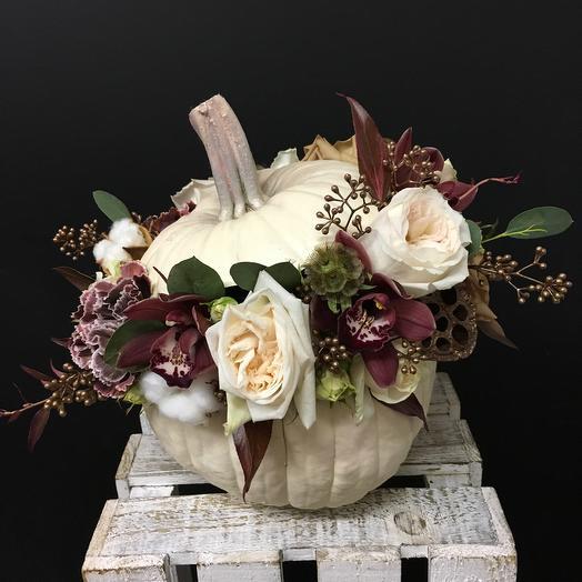 Тыковка для принцессы: букеты цветов на заказ Flowwow