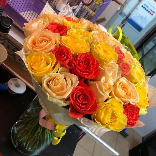 «Gold»: букеты цветов на заказ Flowwow