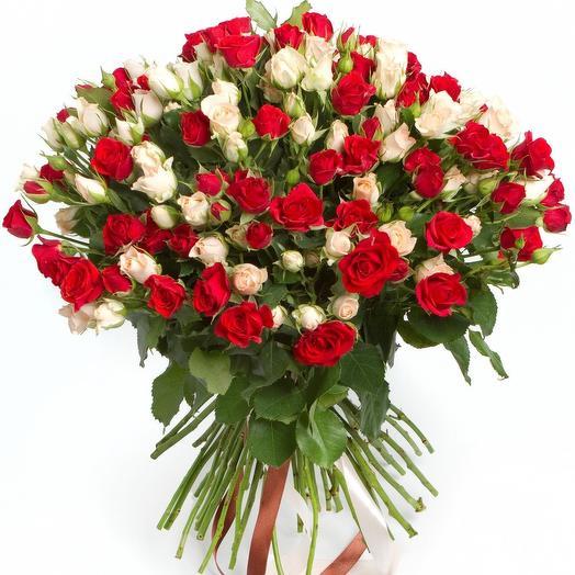 Дуэт 51: букеты цветов на заказ Flowwow