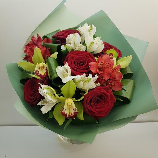 "Букет ""Вечерний"": букеты цветов на заказ Flowwow"