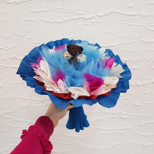 Букет из игрушек 1: букеты цветов на заказ Flowwow