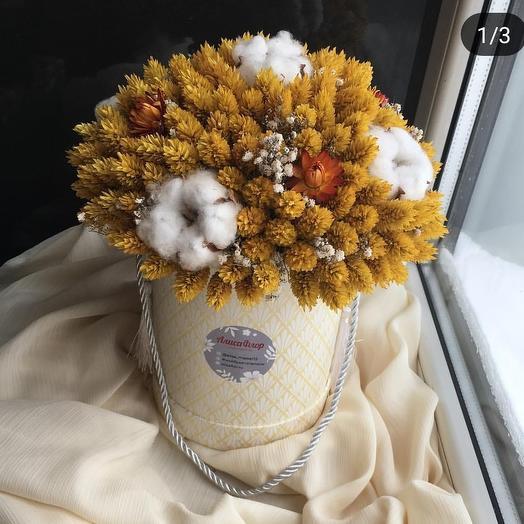 Неувядающее солнце: букеты цветов на заказ Flowwow