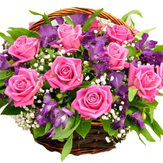 Корзина  047: букеты цветов на заказ Flowwow