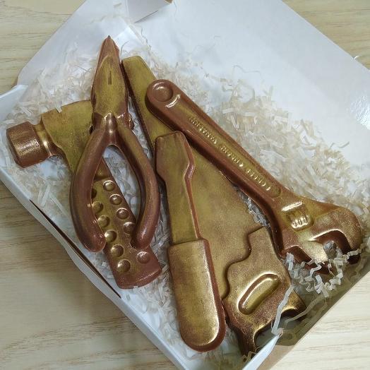 Шоколадные инструменты: букеты цветов на заказ Flowwow
