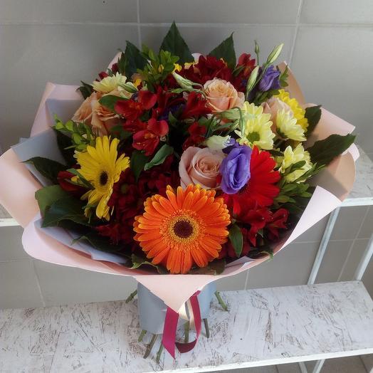 Цветочная феерия: букеты цветов на заказ Flowwow