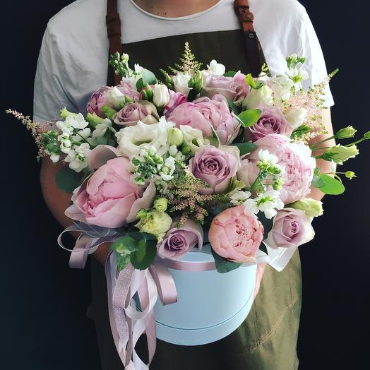 Коробочка - Натали: букеты цветов на заказ Flowwow