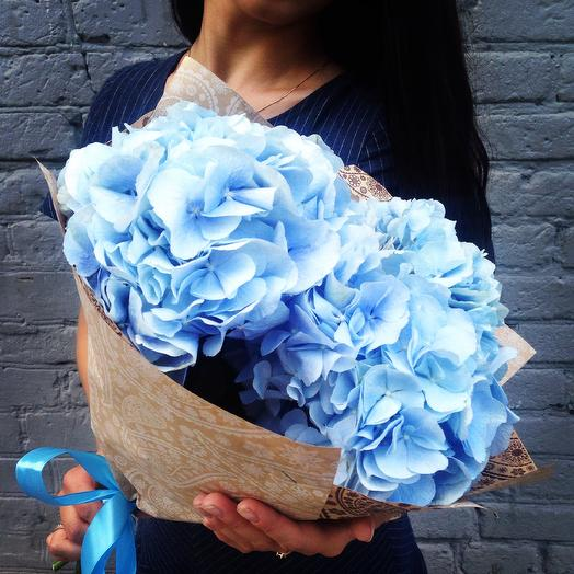 Голубое облачко: букеты цветов на заказ Flowwow