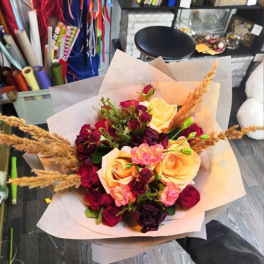 Бронзовый: букеты цветов на заказ Flowwow