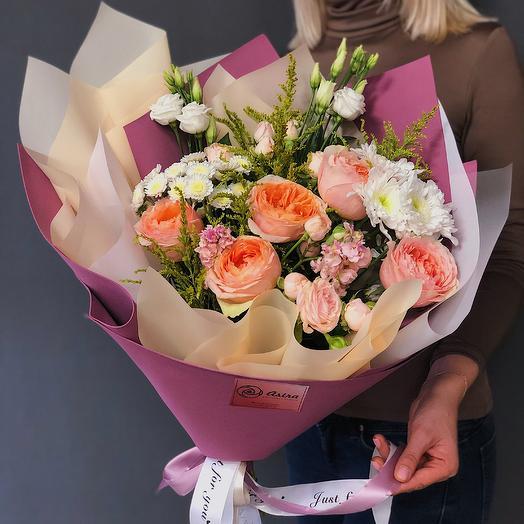 «Для неё»: букеты цветов на заказ Flowwow