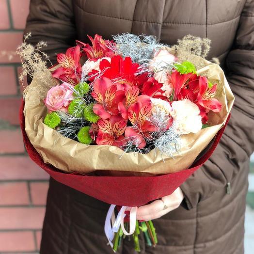 Клубничный 💞: букеты цветов на заказ Flowwow