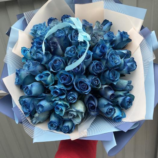 51 Роза: букеты цветов на заказ Flowwow