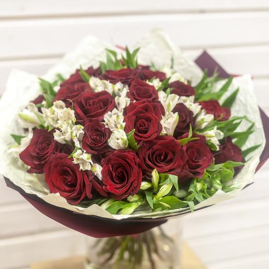 Классика роскоши: букеты цветов на заказ Flowwow