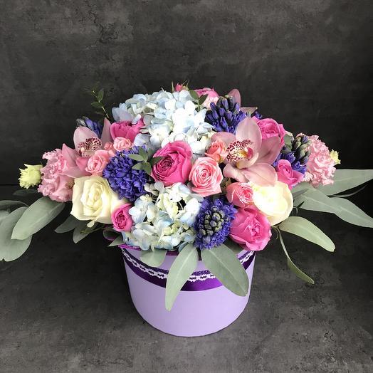 Всплеск эмоций: букеты цветов на заказ Flowwow