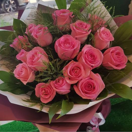 Букет из РЕВИВАЛИ: букеты цветов на заказ Flowwow