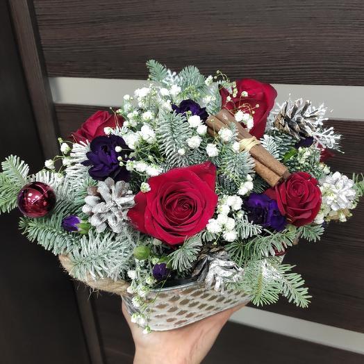 Рождественский подарок: букеты цветов на заказ Flowwow