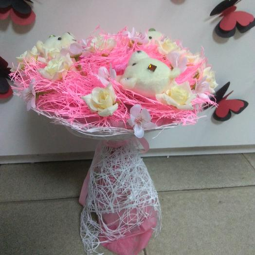 Bouquet with toys