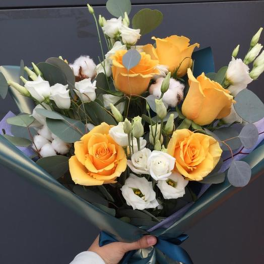 Для настроения): букеты цветов на заказ Flowwow