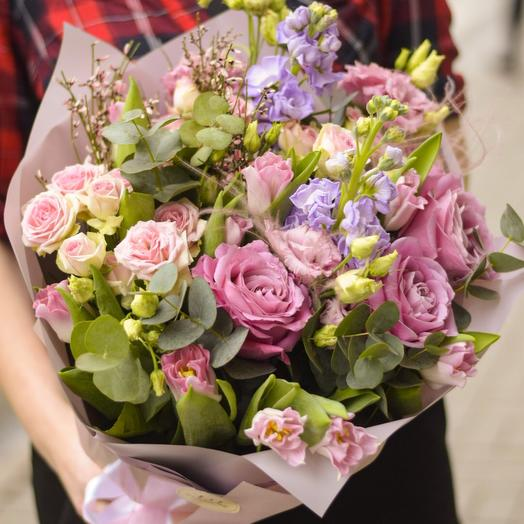 Легкий лиловый: букеты цветов на заказ Flowwow