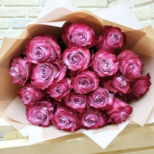 Deep Purple Style: букеты цветов на заказ Flowwow