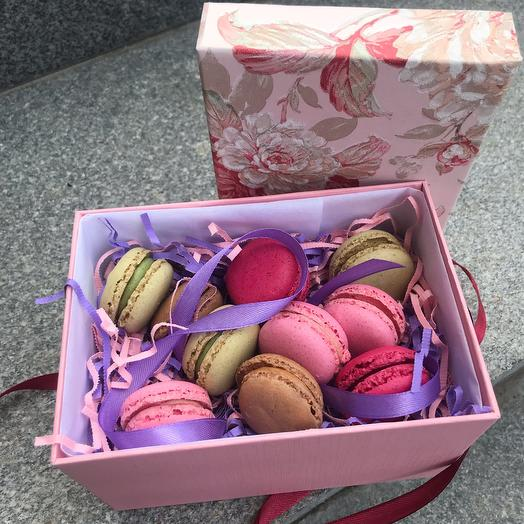 A box of macaroons