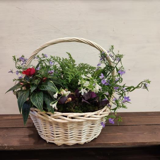 Корзина ROMANTIC: букеты цветов на заказ Flowwow