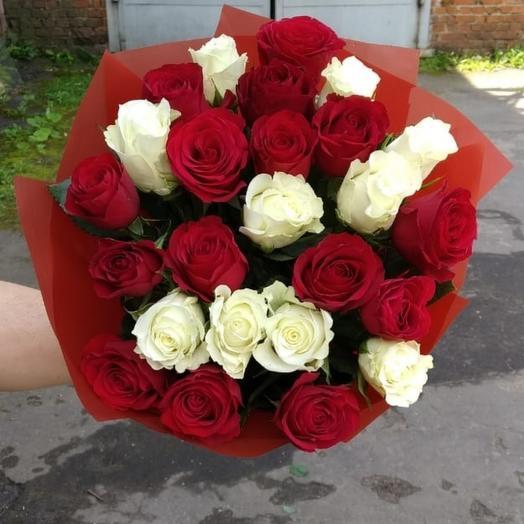 Песня о любви - 25 шт: букеты цветов на заказ Flowwow