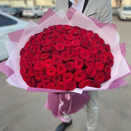 «Большое счастье» 101 роза