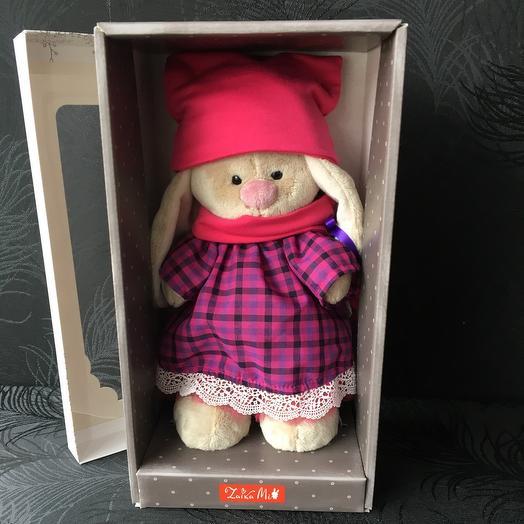 Зайка ми в розовой шапочке