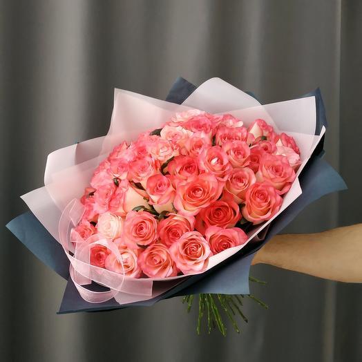 "Букет""51 розовая роза"""