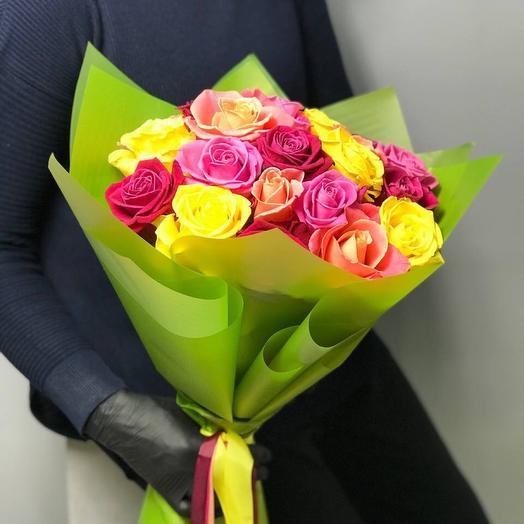 Букет -микс из 23 роз